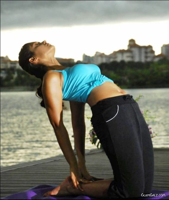 Learn Yoga With Ileana D'Cruz
