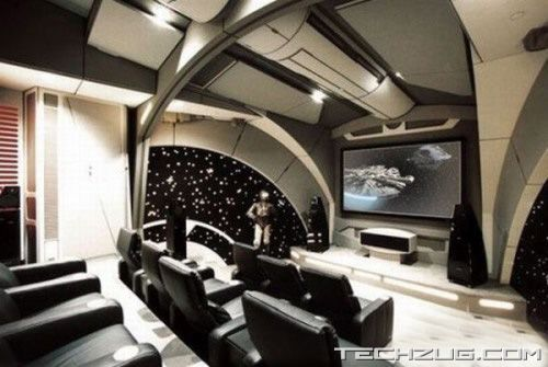 Coolest Private Home Theatres