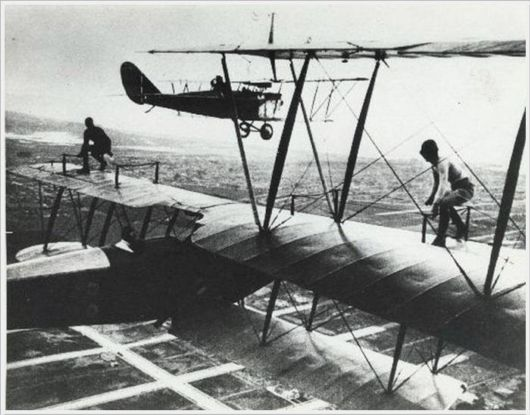 Aerial Stunts Of The 1920s