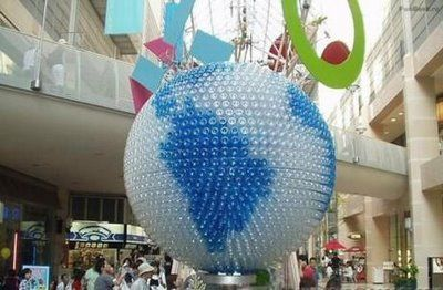 The Second Life of Plastic Bottles