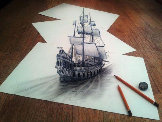 Unbelievable 3D Art On Paper