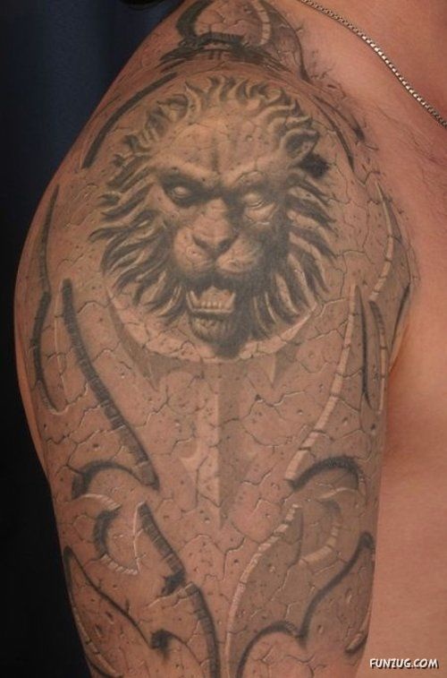 Amazing 3D Tattoo Art