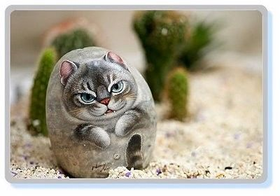 Cutest Animals Stone Art