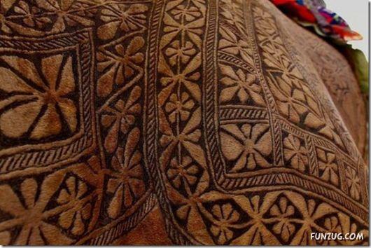 Beautiful Camel Hair Artwork