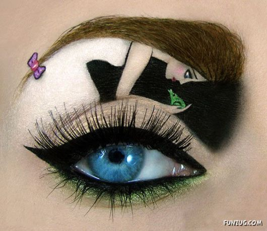 Imaginative Eye Makeup Art