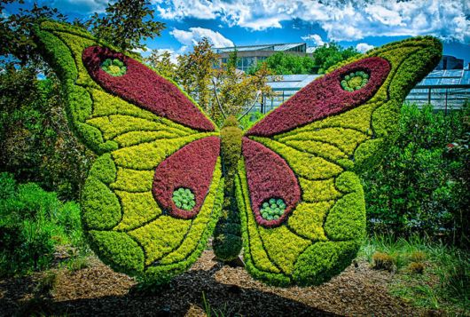 Giant Living Sculptures At Atlanta Botanical Gardens Exhibition