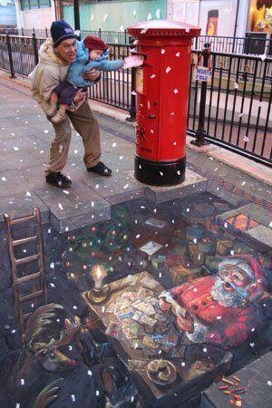 Pavement Artist Strikes Again