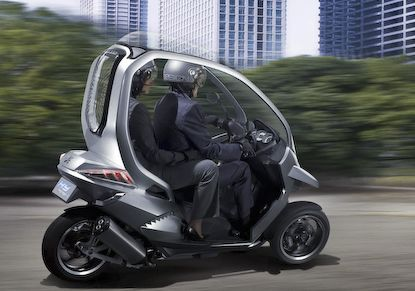 The Most Advanced Hybrid Scooter Ever Designed!