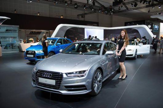 Audi's Three New Models Showcased On Dubai Motor Show