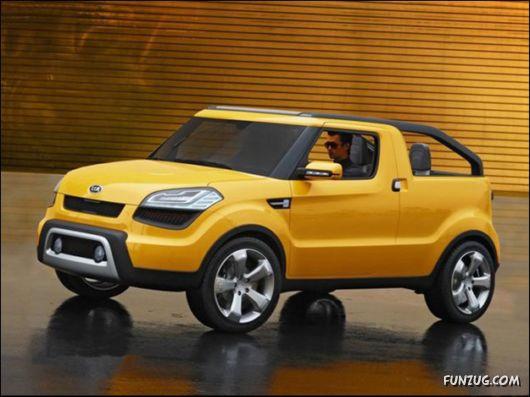 The Kia Soul'ster Concept Car