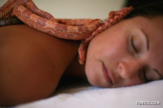 Snaky Massage for Galz