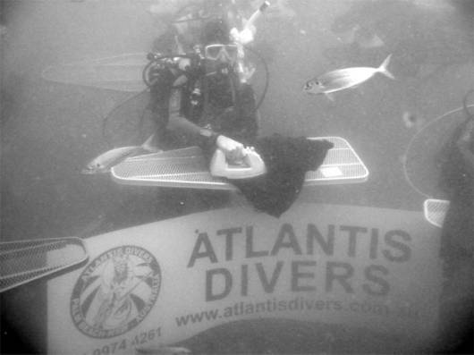 Ever Seen Underwater Ironing