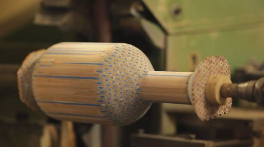 An Artist Turns Pencils Into Beautiful Vases