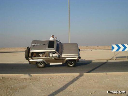Most Amazing Arabian Drivers