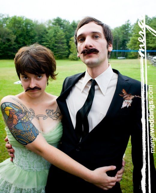 Ever Attended Mustache Wedding Party?