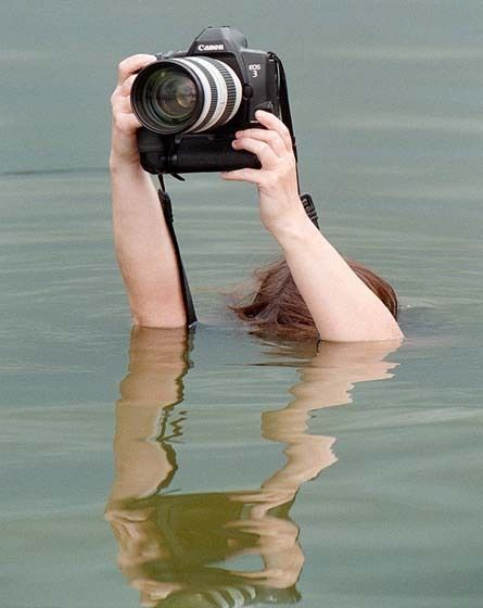 Photography is a Very Tough Job