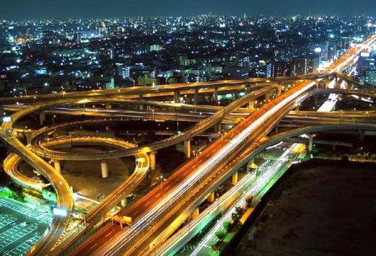 Astounding Japanese Highways, Bridges N Interchanges