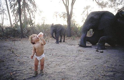 Tippi Degre,The Real Life Mowgli