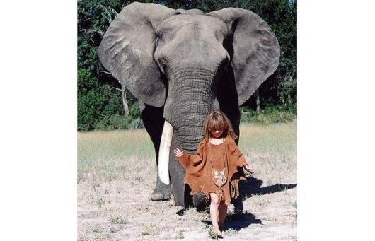 Tippi Degre,The Real Life Mowgli