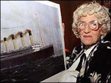 Last Titanic Survivor Auctions Relics