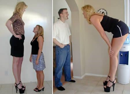 World's Top 10 Tallest Ladies