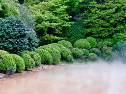 Bloody Pond Chinoike Jigoku In Japan