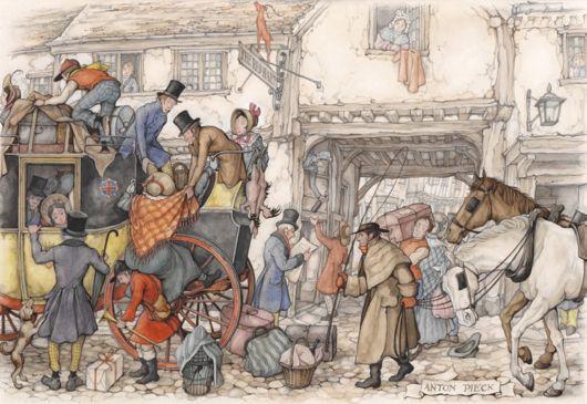 Anton Pieck Is An Amazing Illustrator