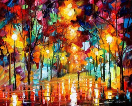 Beautiful Oil Paintings Using Only A Palette Knife