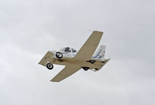 Transition -- A Legal Portable Street Airplane