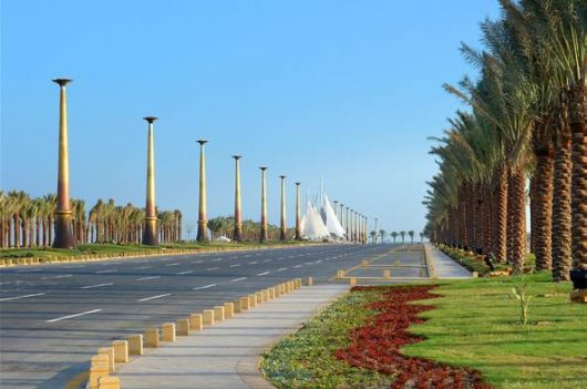 Al Khobar City in Saudi Arabia