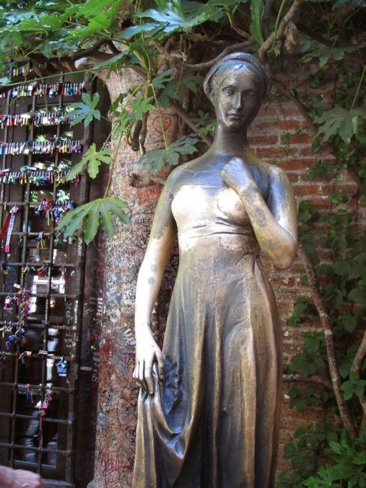 Juliet's House In The City Of Verona