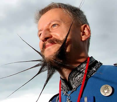 15 Most Bizarre Beards and Mustaches