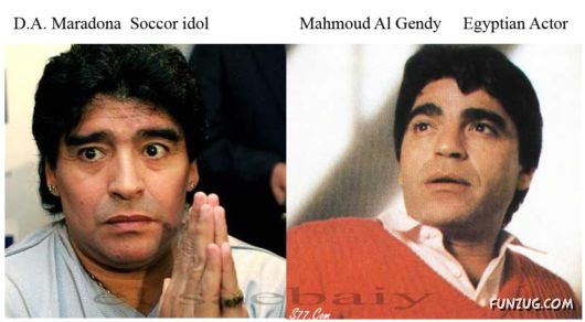 Famous People Incredible Resemblance