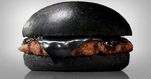 Japan's Burger Kings Sell Black Burgers