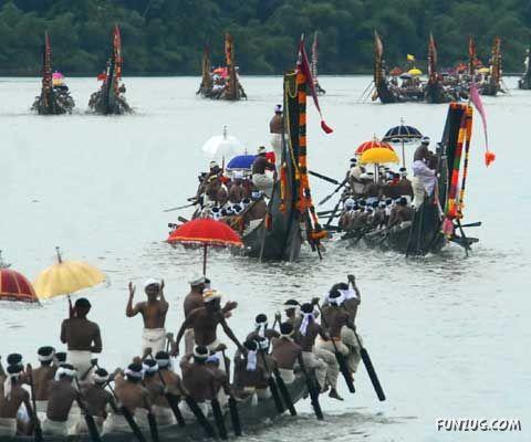 Traditional Boat Race in Aranmula, Kerala