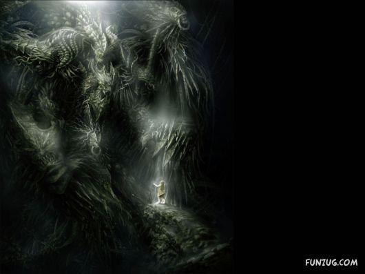 Unusual Fantasy Art Pictures