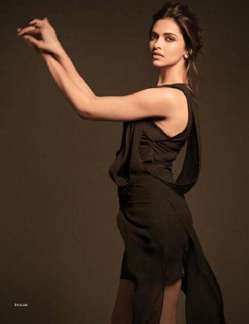 Deepika Padukone On Filmfare Magazine 2015