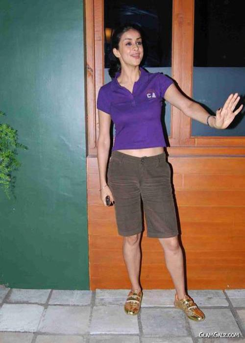 Pretty Gul Panag in Purple