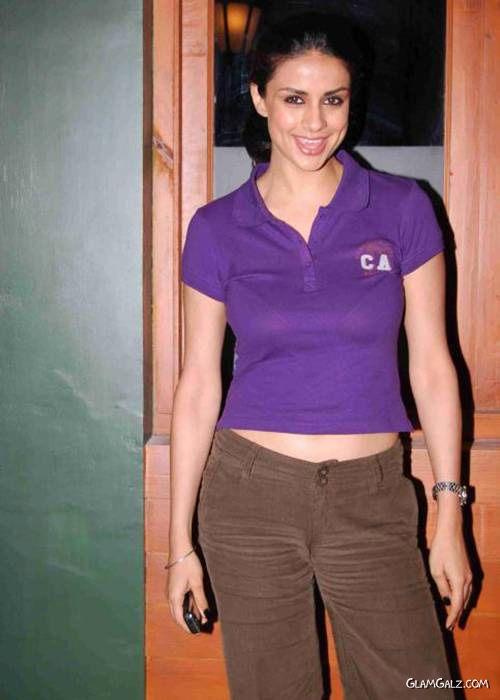 Pretty Gul Panag in Purple