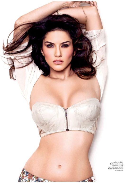 Sunny Shoots For Maxim India