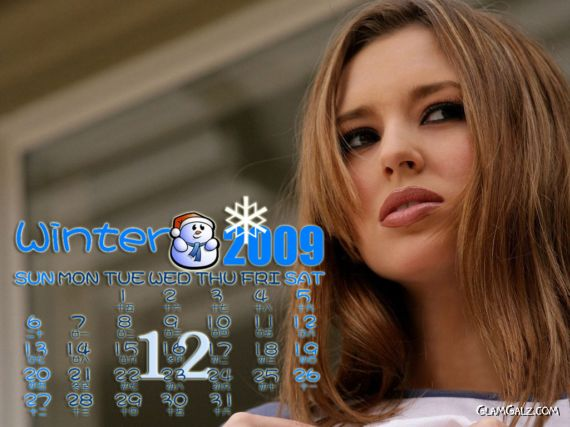 Click to Enlarge - Beautiful $hay L@ren Calendar 2009