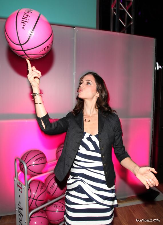 Eliza Dushku at The Launch Of The T-Mobile