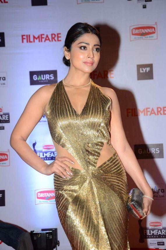 Shriya Saran At Filmfare Awards 2016