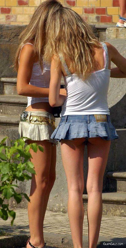 Two Cuties Latest Street Fashion