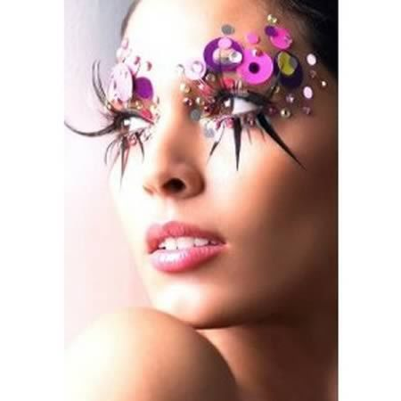 Most Extreme Fashion Makeup Ideas