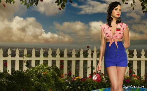 Click to Enlarge - Katy Perry Latest Desktop Wallpapers