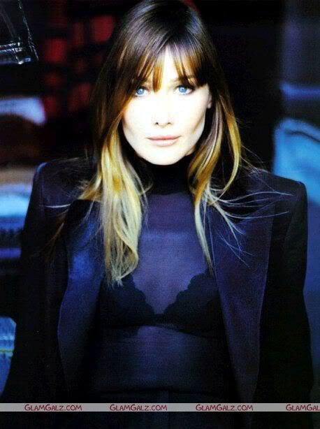 Carla Bruni Photoshoot