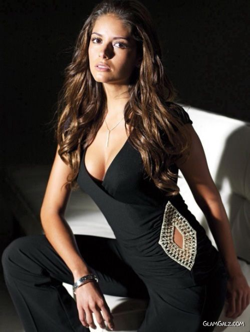 Beautiful Glamour Model Carla Ossa