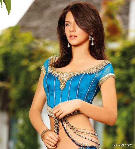 Maria Sokolovski Shoots For Seasons India Glamgalz Com