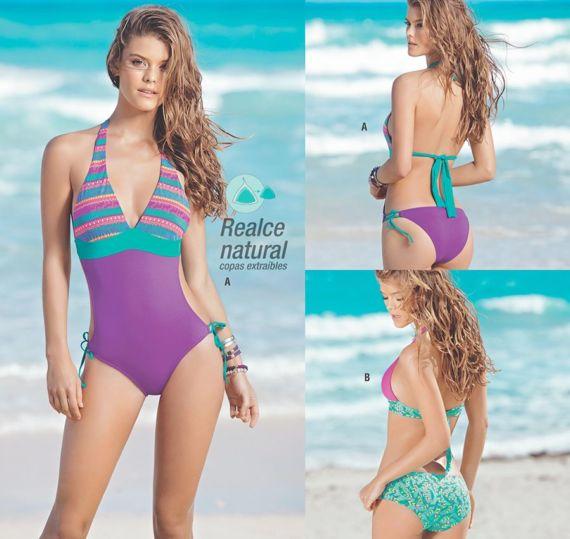 Nina Agdal For Leonisa Swimwear Photoshoot